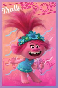 Trolls World Tour Poppy - plakat