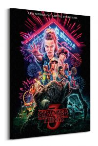 Stranger Things Summer of 85 - obraz na płótnie