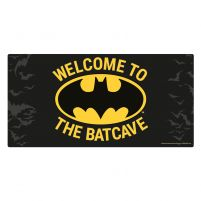Welcom To The Batcave filmowy oryginalny metalowy plakat Batman DC Comics
