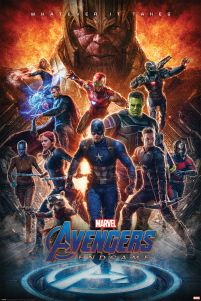 Avengers edngame whatever it takes Thanos Kapitan Ameryka Czarna Wdowa plakat filmowy