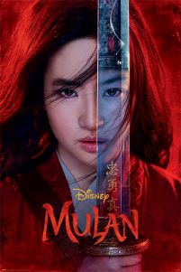 Plakat Be Legendary z filmu Mulan