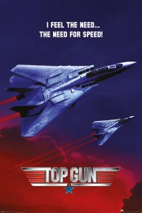 I Feel the Need the need for speed Top Gun myśliwce plakar filmowy