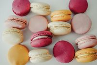 French Macaroons - plakat