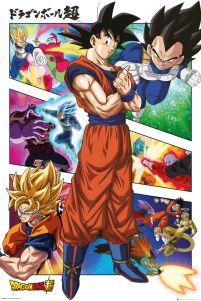 Dragon Ball Super Panels - plakat