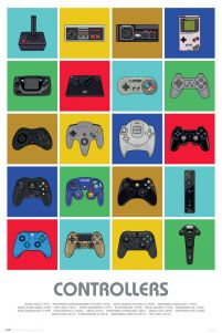 Controllers - plakat