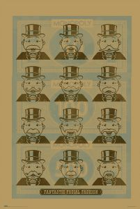 Monopoly Facial Fashion - plakat