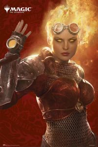 Magic The Gathering Chandra - plakat