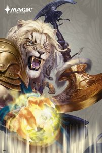 Magic The Gathering Ajani - plakat