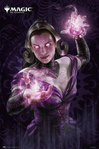 Magic The Gathering Liliana - plakat