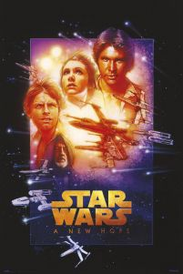 Star Wars A New Hope - plakat