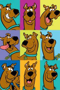 Scooby Doo The Many Faces of Scooby - plakat