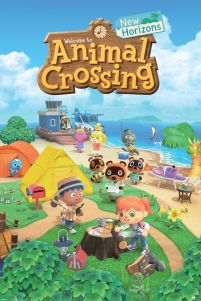 Animal Crossing New Horizon - plakat