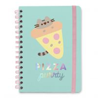 Pusheen Pizza Purrty - notes A5