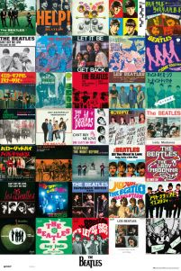 The Beatles Singles - plakat