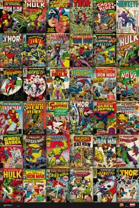 Marvel Comics Classic Covers - plakat