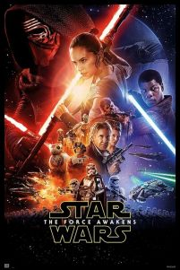 Star Wars The Force Awakens - plakat