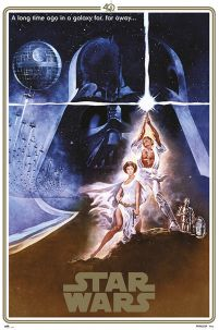 Star Wars A Logn Time Ago - plakat