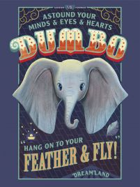 Disney Dumbo - plakat