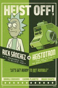 Rick and Morty Heist Off - plakat