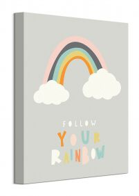 Follow Your Rainbow - obraz na płótnie