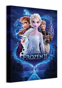Frozen 2 Magic - obraz na płótnie