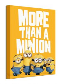 Minions: The Rise of Gru More Than a Minion - obraz na płótnie