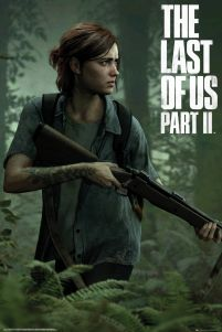 The Last of Us Part II Ellie - plakat