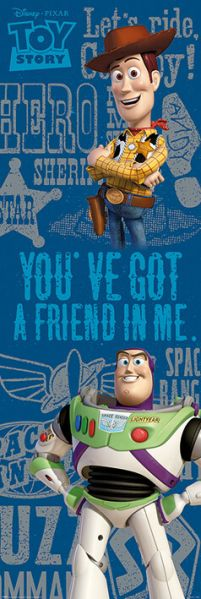 Toy Story You've Got A Friend - plakat