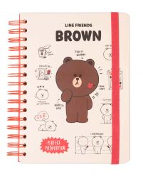 Line Friends Perfect Proportion - notes A5