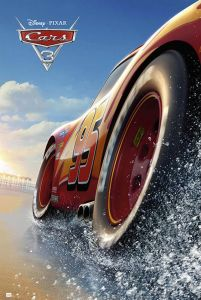 Cars 3 Beach - plakat