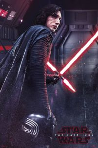 Star Wars The Last Jedi Kylo Ren - plakat