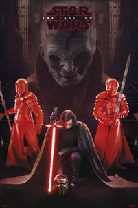 Star Wars The Last Jedi Snoke Leader - plakat