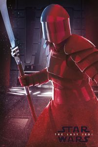Star Wars The Last Jedi Elite Guard - plakat