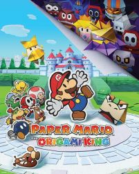 Paper Mario The Origami King - plakat