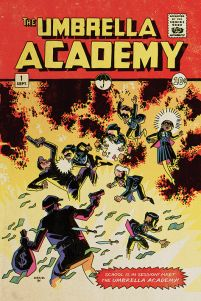 The Umbrella Academy School is in Session - plakat