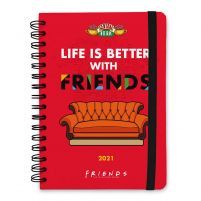 Friends Life Is Better With - dziennik A5 kalendarz 2021