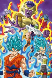 Dragon Ball Super God Super - plakat