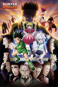Hunter X Hunter Book - plakat