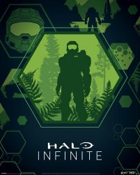 Halo Infinite Master Chief Hex - plakat