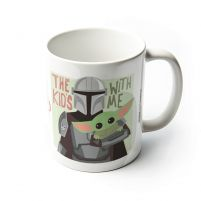 Star Wars The Mandalorian The Kids With Me - kubek