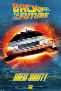 Back to the Future Great Scott - plakat
