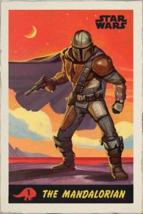 Star Wars The Mandalorian - plakat