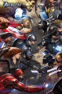 Avengers Gamerverse Face Off - plakat