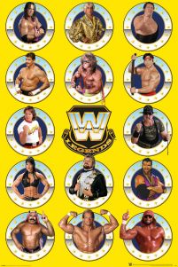 WWE Legends Chrome - plakat