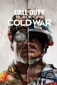 Call of Duty Black Ops Cold War Split - plakat