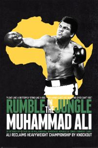 Muhammad Ali Rumble in the Jungle - plakat