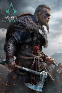 Assassin's Creed Valhalla Eivor - plakat