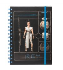 Star Wars: The Rise Of Skywalker Airfix Rey - notes A5
