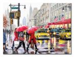 Canvas New York Shoppers o wymiarach 30x40