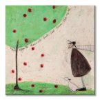 Canvas The Apple Doesn't Fall Far From The Tree malarki Sam Toft
